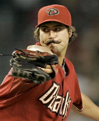 Dennis Eckersley Mustache