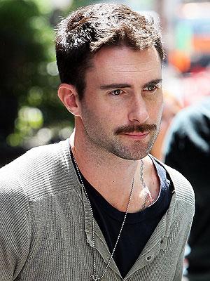 Image result for adam levine mustache