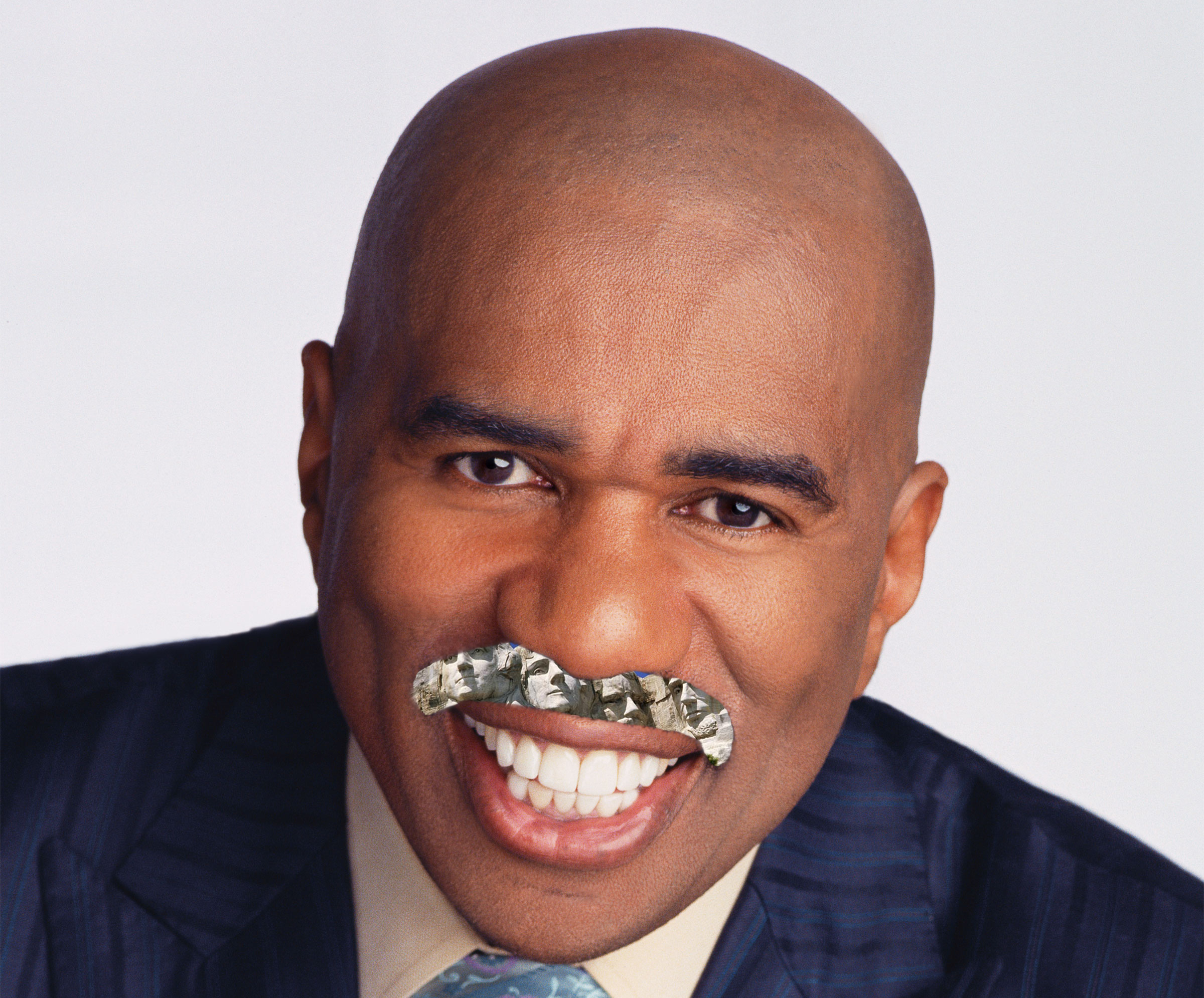 Steve Harvey American Landmark Steesh Mount Rushmore