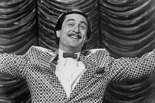 I really am afraid of stalkers, even though no one will ever stalk me. Here is Robert De Nero from The King of Comedy, who if you're not careful with, might do a murder to you.