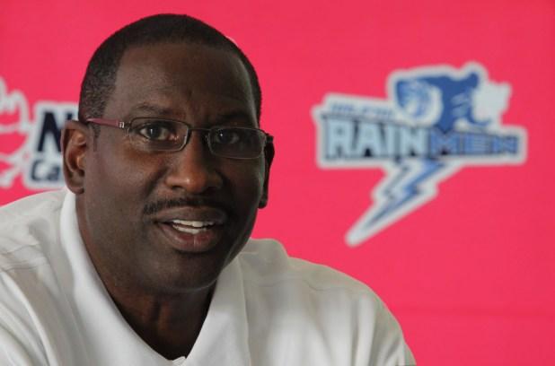 New Rainmen coach, Cliff Livington.