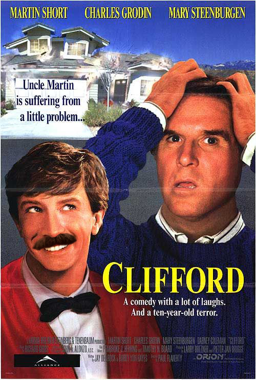 Clifford might not be a horror movie, or even Halloween themed, but good golly is Martin Short creepy in it