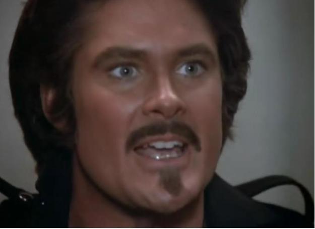 david hasselhoff mustache