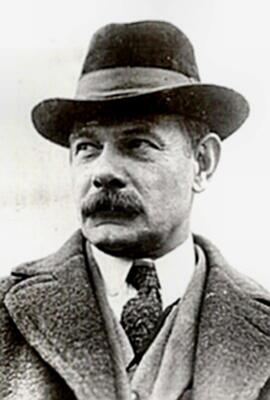 Gutzon Borglum Mustache