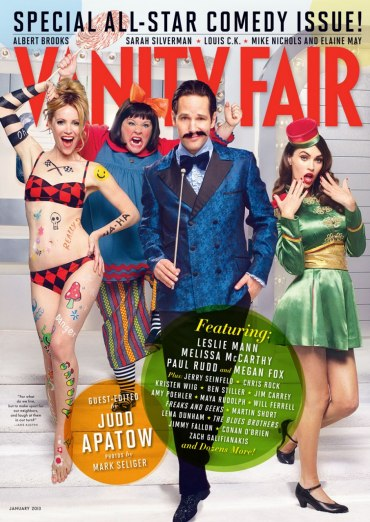 Paul Rudd Vanity Fair Mustache