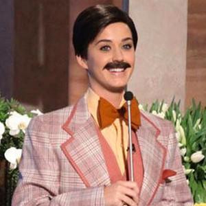 Katy Perry Mustache Ellen