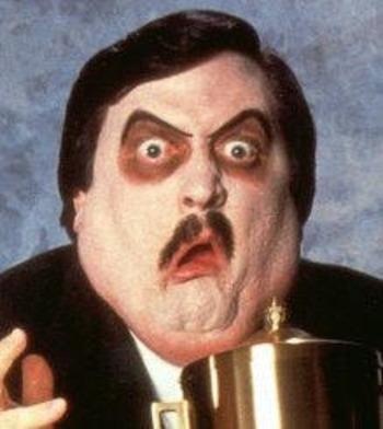 Paul Bearer Mustache