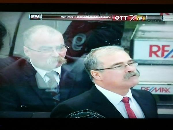 Paul  MacLean Mustache Twins