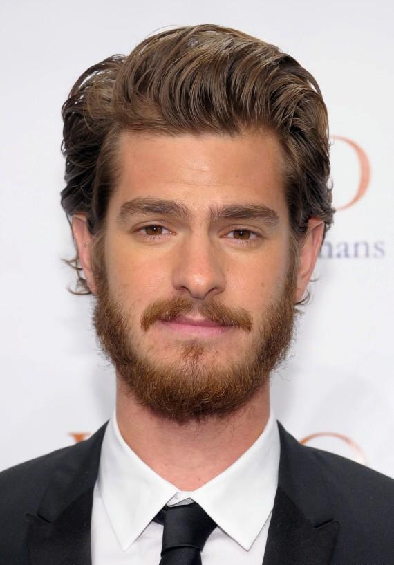 Andrew Garfield Mustache Beard