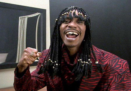 Dave Chappelle as Rick James