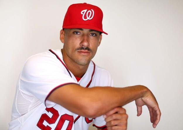 Ian Desmond Mustache 2013