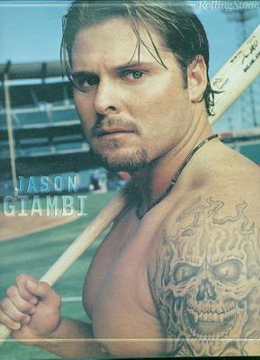 Jason Giambi Mustache