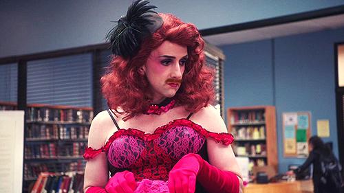 Jim Rash Mustache Dean Pelton Community