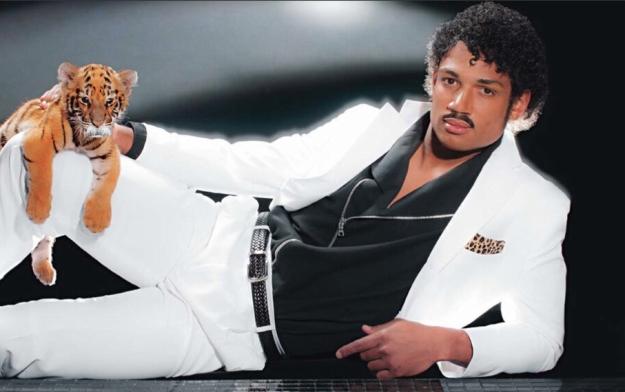 Josh Freeman Michael Jackson Mustache