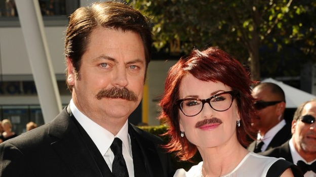 Nick Offerman and Megan Mullally Love Advice