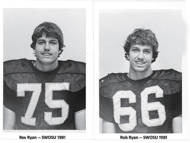 Rex and Rob Ryan Mustache Oklahoma State University
