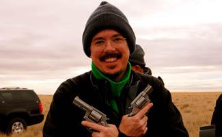 Vince Gilligan Mustache Guns