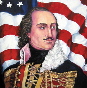 Casimir Pulaski Mustache