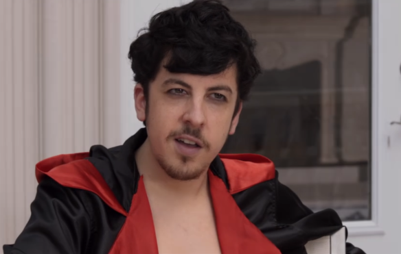 Christopher Mintz-Plasse Mustache Kick Ass 2