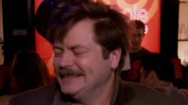 Daft Swanson Mustache