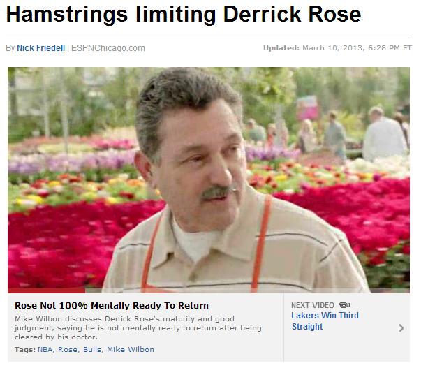 Derrick Rose 2013