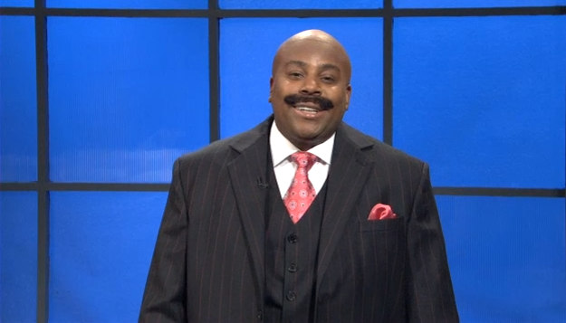 Kenan Thompson Mustache Steve Harvey