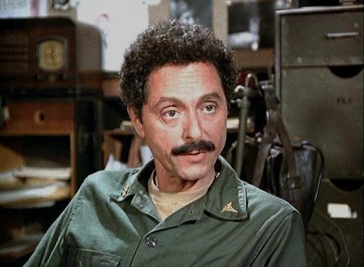 Allan Arbus Mustache M.A.S.H