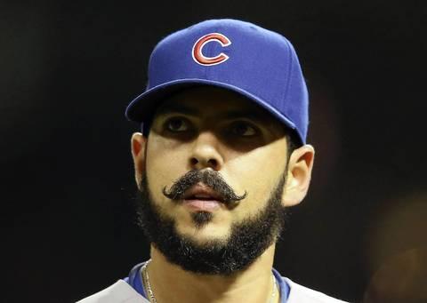 Carlos Villanueva Mustache Cubs