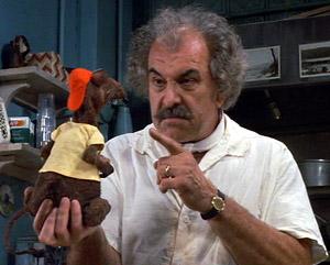 Louis Zorich Mustache Pete MuppetsManhattan