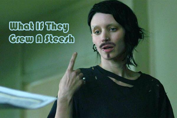 Rooney Mara Mustache