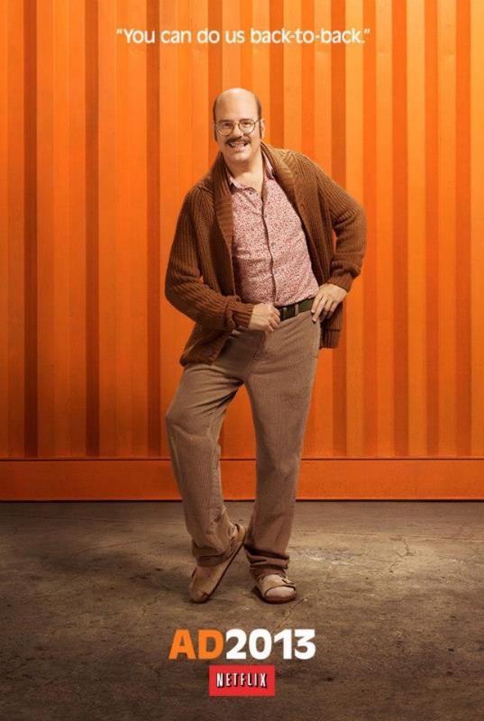 Tobias Funke Mustache Netflix Ad