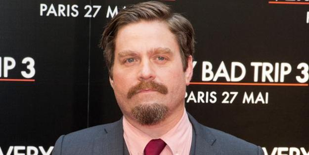 Zach Galifianakis Mustache 2013