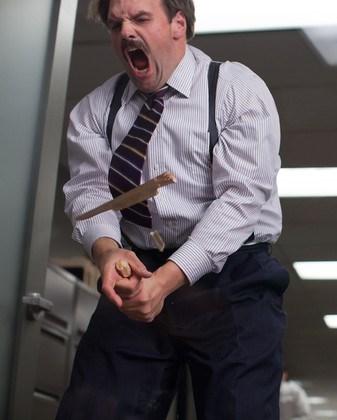 Eithan Suplee Mustache Wolf of Wall Street
