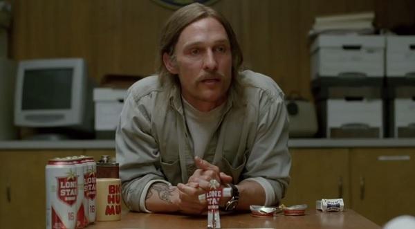 Matthew McConaughey True Detective Mustache