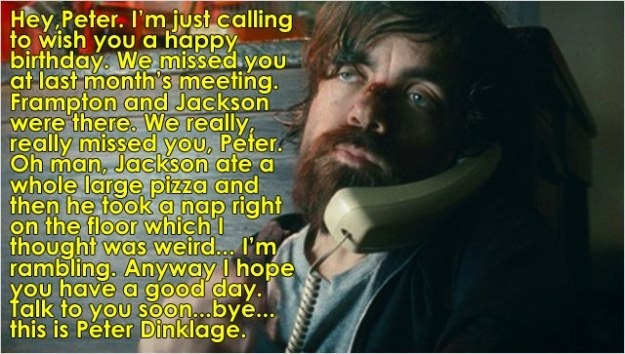 Peter Dinklage Happy Birthday