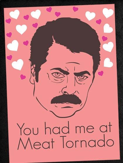 Ron Swanson Valentine