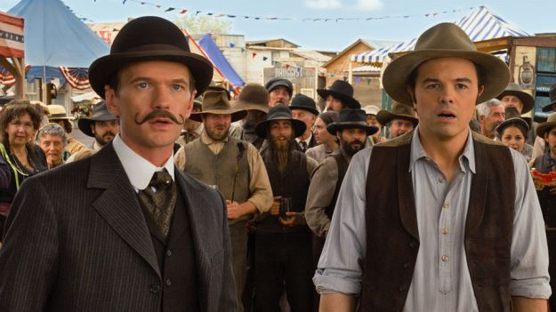 Neil Patrick Harris Mustache A Million Ways to Die in the West